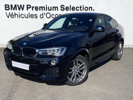 Occasion BMW X4 xDrive20dA 190ch M Sport 2018 Carbonscwharz 39990 € à Metz
