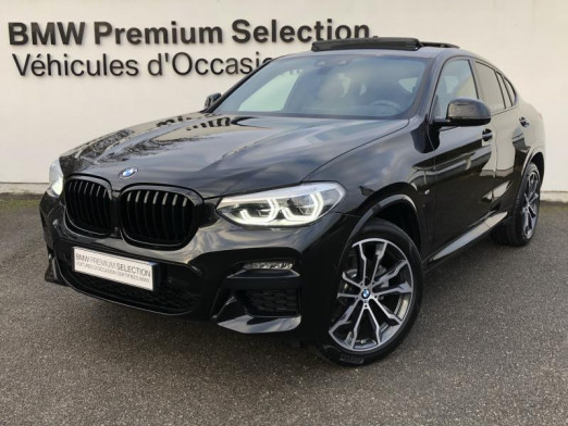 Occasion BMW X4 xDrive20d 190ch M Sport Euro6d-T 2020 Saphirschwarz 68400 € à Metz