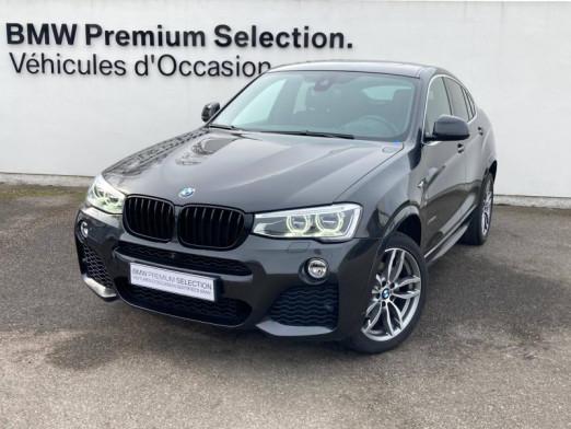 Occasion BMW X4 xDrive20dA 190ch M Sport 2017 Sophistograu 39490 € à Metz
