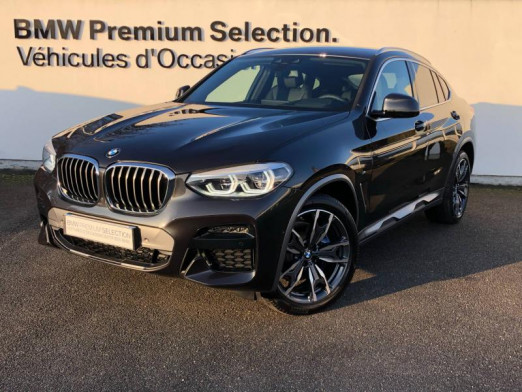 Occasion BMW X4 xDrive20d 190ch M Sport X Euro6d-T 131g 2020 Sophistograu 64400 € à Metz