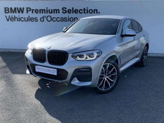 Occasion BMW X4 xDrive20d 190ch M Sport Euro6d-T 131g 2020 Glaciersilber 62800 € à Metz
