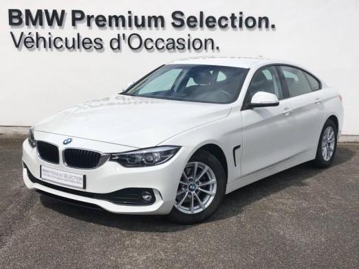Occasion BMW Série 4 Gran Coupé 418d 150ch Lounge 2018 Alpinweiss 24790 € à Metz