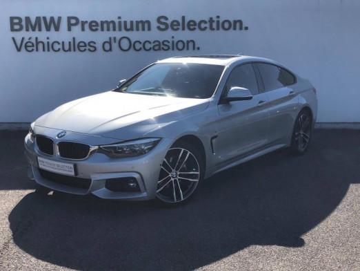 Occasion BMW Série 4 Gran Coupé 420dA xDrive 190ch M Sport 2018 Glaciersilber 39190 € à Metz
