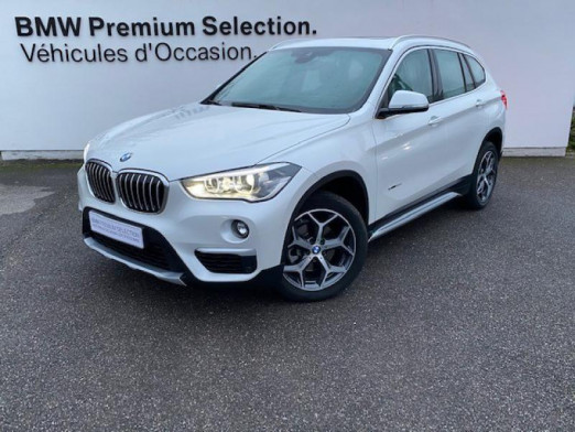 Occasion BMW X1 sDrive18dA 150ch xLine 2017 Mineralweiss 27999 € à Metz