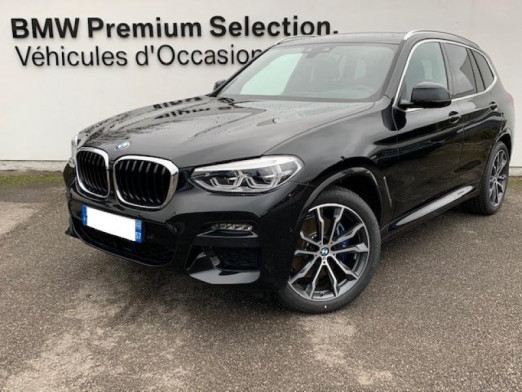Occasion BMW X3 xDrive30dA 265ch M Sport Euro6d-T 2020 Saphirschwarz 75700 € à Metz