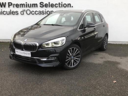 Occasion BMW Série 2 ActiveTourer 216i 109ch Luxury 125g 2020 Noir 31900 € à Metz