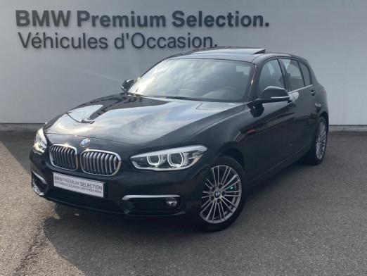 Occasion BMW Série 1 114d 95ch UrbanChic 5p 2017 Schwarz 19499 € à Metz