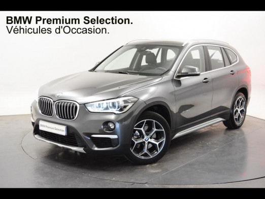 Occasion BMW X1 xDrive18dA 150ch xLine 2017 Mineralgrau 28950 € à Forbach