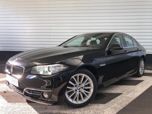 Occasion BMW Série 5 520dA xDrive 190ch Luxury 2016 Saphirschwarz 27990 € à Forbach