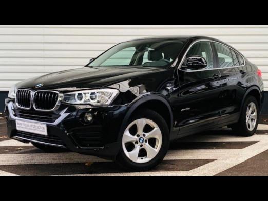 Occasion BMW X4 xDrive20dA 190ch Lounge Plus 2017 Schwarz 33490 € à Forbach