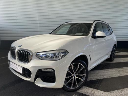 Occasion BMW X3 xDrive20dA 190ch M Sport Euro6c 2019 Alpinweiss 48990 € à Forbach