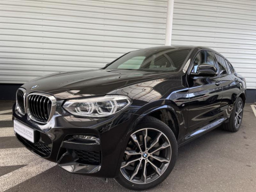Occasion BMW X4 xDrive20d 190ch M Sport Euro6d-T 131g 2020 Saphirschwarz 59890 € à Forbach