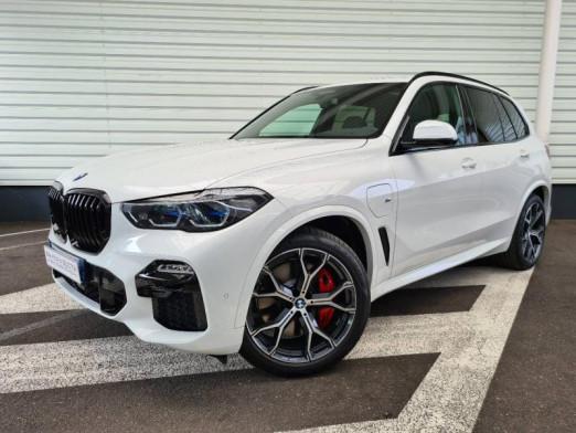 Occasion BMW X5 xDrive45eA 394ch M Sport 17cv 2021 Blanc 91990 € à Forbach