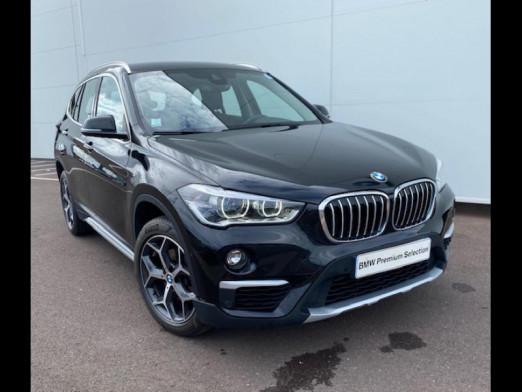 Occasion BMW X1 sDrive18dA 150ch xLine Euro6d-T 2018 Saphirschwarz 27990 € à Terville