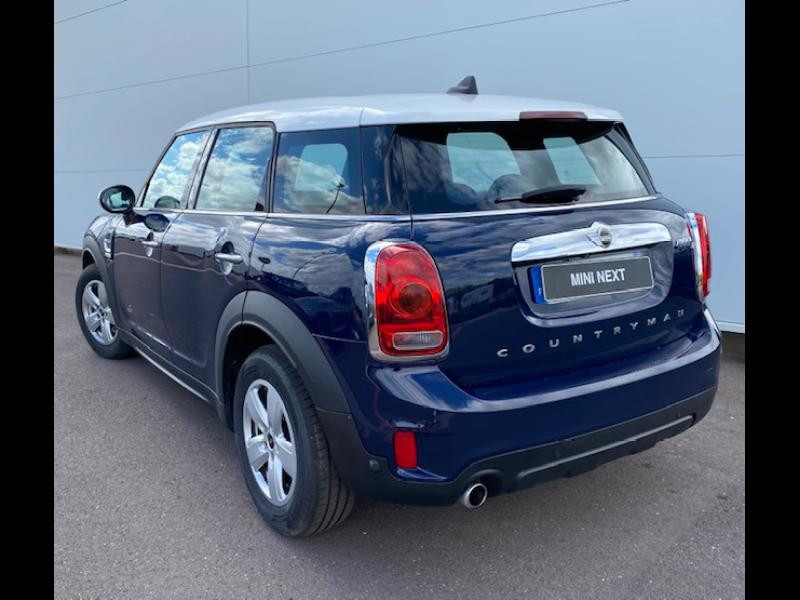 Occasion MINI Countryman Cooper D 150ch Business ALL4 2017 Lapis Luxury Blue Mini Yours 21390 € à Terville