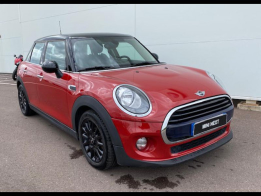 Occasion MINI Mini 5 Portes Cooper D 116ch Shoreditch BVA 2017 Chili Red 18 490 € à Terville