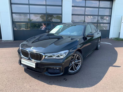 Occasion BMW Série 7 730dA xDrive 265ch M Sport 2018 Saphirschwarz 49900 € à Terville