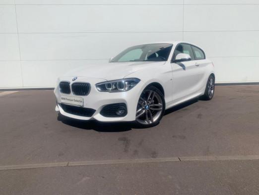 Occasion BMW Série 1 118i 136ch M Sport 3p 2017 Blanc 23990 € à Terville