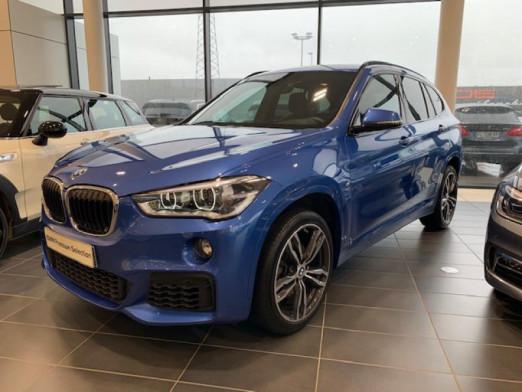 Occasion BMW X1 sDrive18iA 140ch M Sport DKG7 2017 Estorilblau 30900 € à Terville