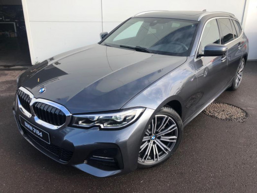 Occasion BMW Série 3 Touring 318dA 150ch M Sport 2020 Mineralgrau 49100 € à Terville