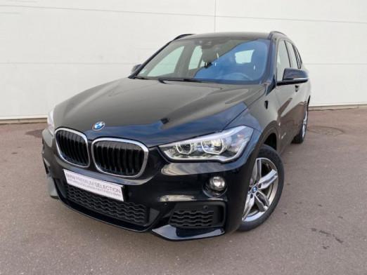 Occasion BMW X1 sDrive18iA 140ch M Sport DKG7 2017 Saphirschwarz 28900 € à Terville