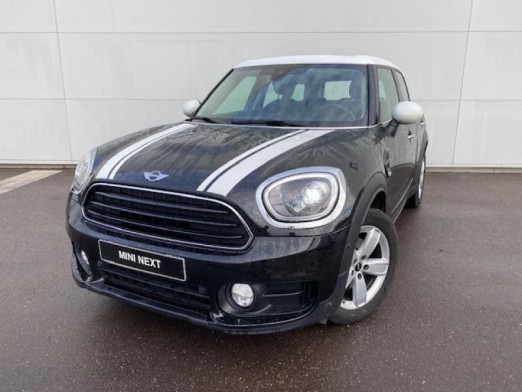 Occasion MINI Countryman Cooper D 150ch Exquisite BVA 2017 Midnight Black 27 900 € à Terville