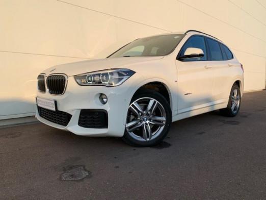 Occasion BMW X1 sDrive18dA 150ch M Sport 2017 Blanc 29990 € à Terville