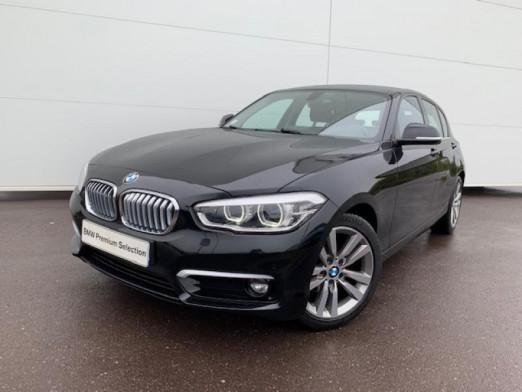 Occasion BMW Série 1 118iA 136ch UrbanChic 5p 2017 Saphirschwarz 21900 € à Terville