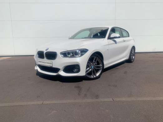 Occasion BMW Série 1 118i 136ch M Sport 3p 2017 Blanc 22900 € à Terville