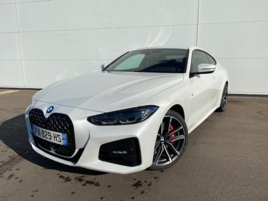 Occasion BMW Série 4 Coupé 420dA 190ch M Sport 2021 Mineralweiss 55900 € à Terville