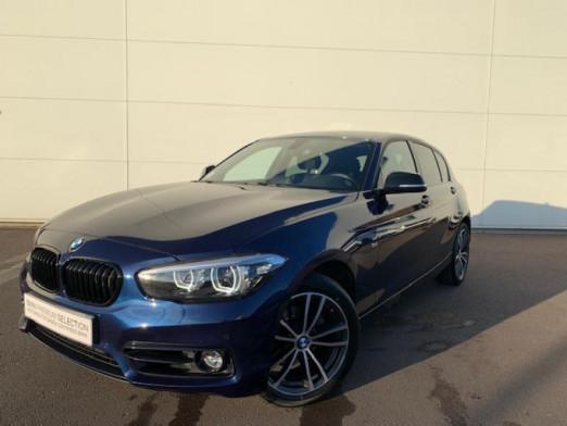 Occasion BMW Série 1 118dA 150ch Sport 5p 2018 Mediterranblau 24900 € à Terville