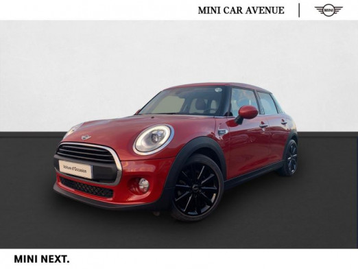 Occasion MINI Mini 5 Portes One 102ch Blackfriars 2017 Blazing Red II 18 990 € à Nancy
