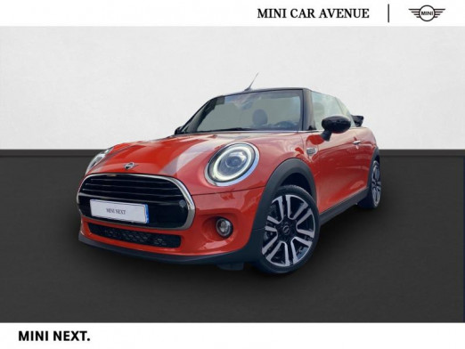 Occasion MINI Cabrio Cooper 136ch Edition Greenwich BVA7 Euro6d-T 2020 Solaris Orange 32 590 € à Nancy