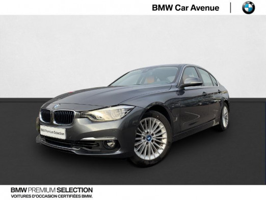 Occasion BMW Série 3 330eA 252ch Luxury 2018 Mineralgrau 31 950 € à Nancy