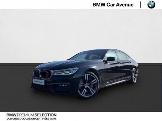 Occasion BMW Série 7 750LiA xDrive 450ch M Sport 2015 Carbonschwarz 45990 € à Nancy