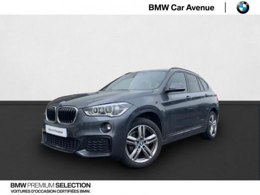 Occasion BMW X1 sDrive18dA 150ch M Sport 2017 Mineralgrau 30490 € à Nancy
