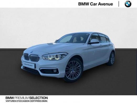 Occasion BMW Série 1 116i 109ch UrbanChic 5p 2018 Alpinweiss 20990 € à Nancy