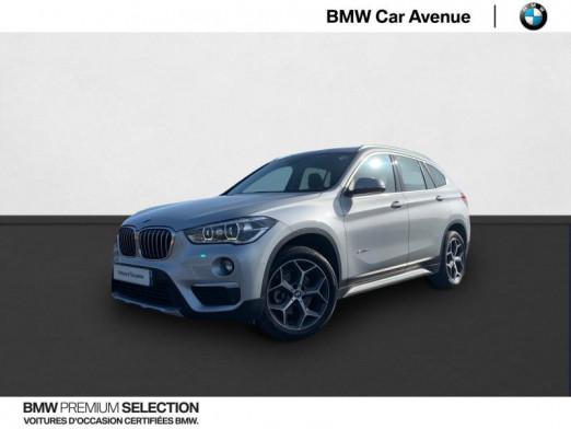 Occasion BMW X1 sDrive18d 150ch xLine 2017 Glaciersilber 26590 € à Nancy