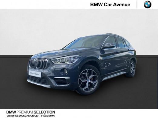 Occasion BMW X1 sDrive18iA 140ch xLine DKG7 Euro6d-T 2018 Atlanticgrau 25990 € à Nancy