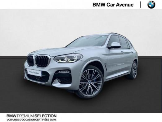 Occasion BMW X3 xDrive30dA 265ch M Sport 2017 Glaciersilber 53990 € à Nancy