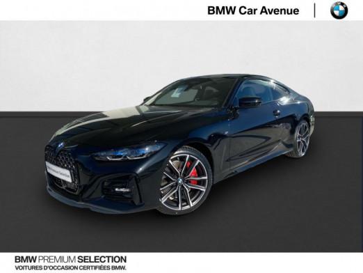 Occasion BMW Série 4 Coupé 420dA xDrive 190ch M Sport 2021 Saphirschwarz 65990 € à Nancy