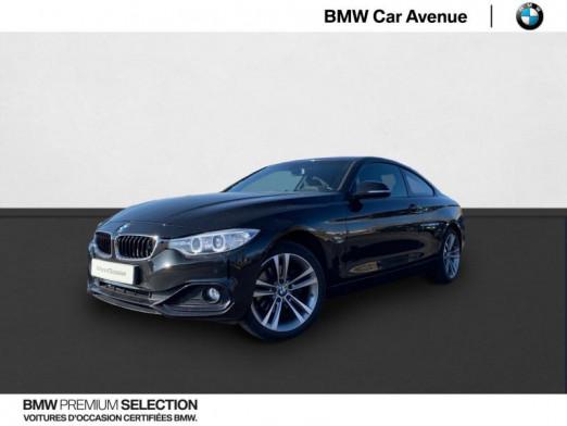 Occasion BMW Série 4 Coupé 420dA xDrive 184ch Sport 2015 Saphirschwarz 25200 € à Nancy