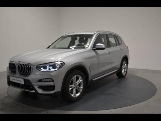 Occasion BMW X3 xDrive20dA 190ch  xLine 2019 Glaciersilber 43900 € à Nancy