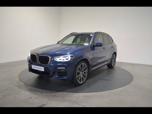 Occasion BMW X3 xDrive30dA 265ch M Sport 2018 Phytonicblau 58990 € à Nancy