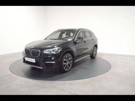 Occasion BMW X1 sDrive18dA 150ch xLine 2016 Saphirschwarz 27490 € à Nancy