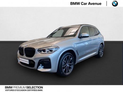 Occasion BMW X3 xDrive20dA 190ch  M Sport 2021 Glaciersilber 69900 € à Nancy