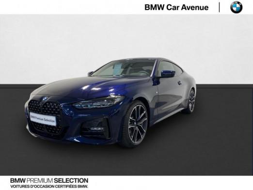 Occasion BMW Série 4 Coupé 430dA xDrive 286ch M Sport 2021 Tanzaniteblau 69990 € à Nancy