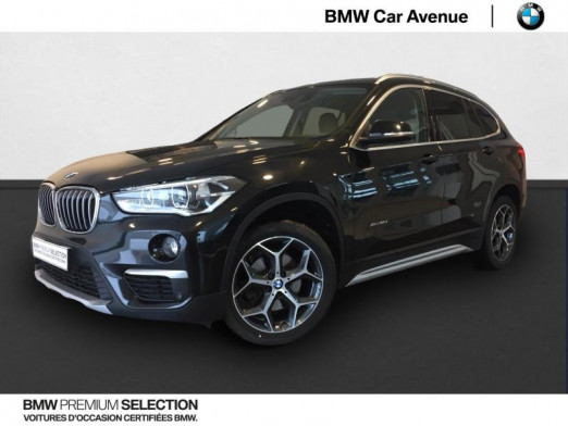 Occasion BMW X1 xDrive18dA 150ch xLine 2017 Saphirschwarz 28899 € à Épinal