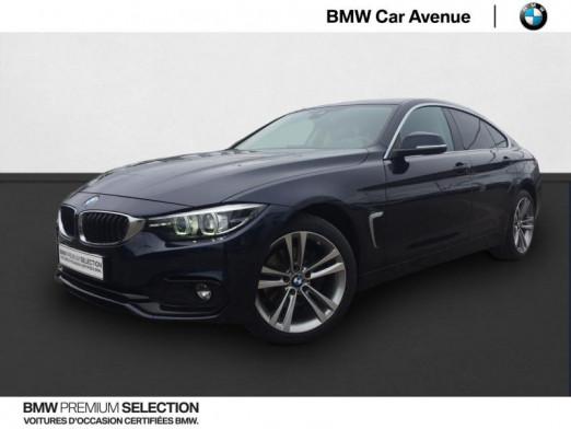 Occasion BMW Série 4 Gran Coupé 420dA xDrive 190ch Sport 2017 Imperialblau brillant 26999 € à Épinal