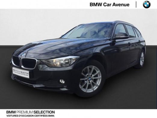 Occasion BMW Série 3 Touring 316d 116ch Lounge 2014 Saphirschwarz 14489 € à Épinal